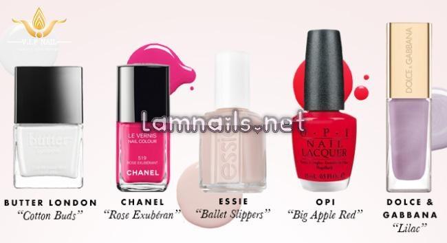 10 màu sơn móng giúp bạn có bộ nail tuyệt đẹp