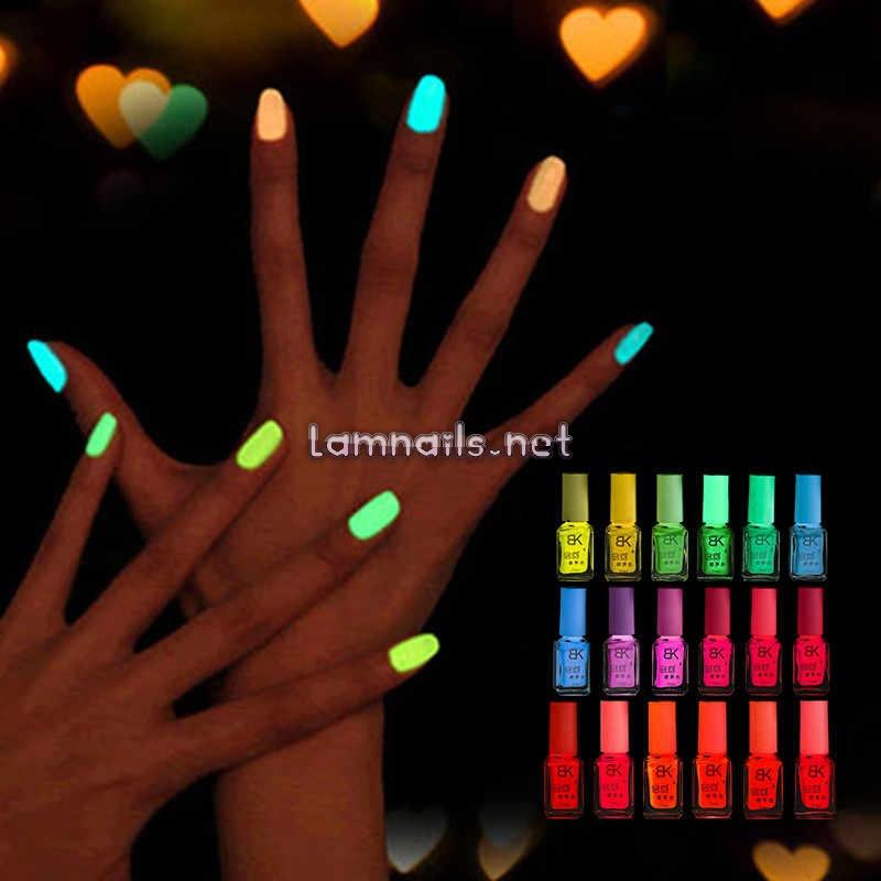 Mẫu Nail Đẹp: Học cách sơn móng tay phát sáng ấn tượng, xu hướng nail 2021