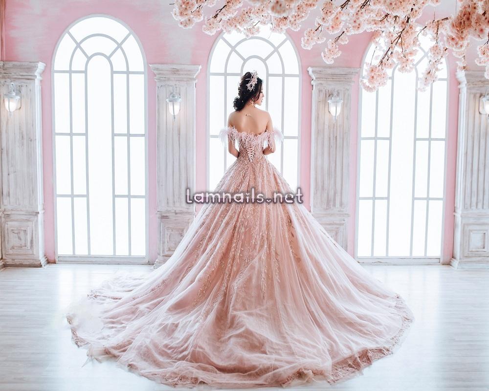 Mẫu Nail Đẹp: Top 6 kiểu nail cưới đẹp cho cô dâu mùa cưới, xu hướng nail 2021