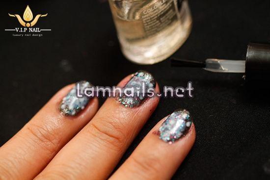 cách vẽ nail dải ngân hà - baogiadinh.vn