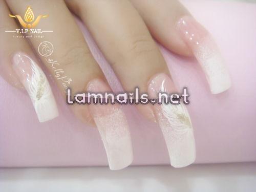 học vẽ nail lông vũ trắng tinh khôi - baogiadinh.vn