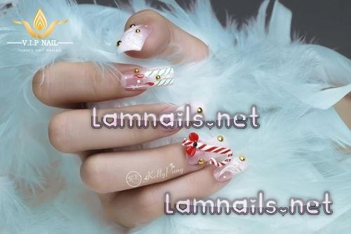 Mẫu Nail Đẹp: Học vẽ nail lông vũ trắng tinh khôi, xu hướng nail 2021