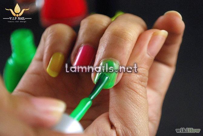 hướng dẫn vẽ móng tay Halloween; - baogiadinh.vn