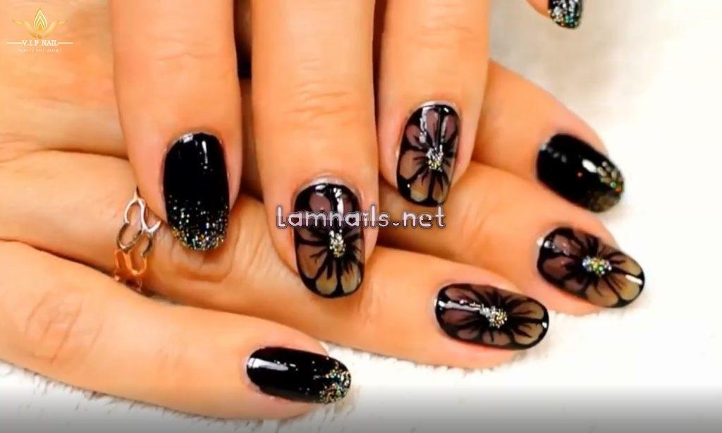 Hướng dẫn vẽ nail hoa bằng cọ vẽ nail - baogiadinh.vn