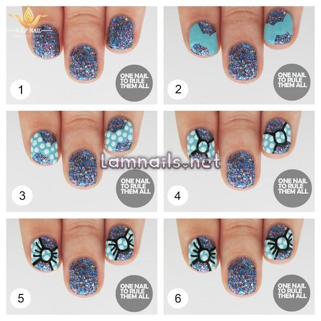 hướng dẫn vẽ nail tuyệt đẹp cho nàng móng ngắn; - baogiadinh.vn