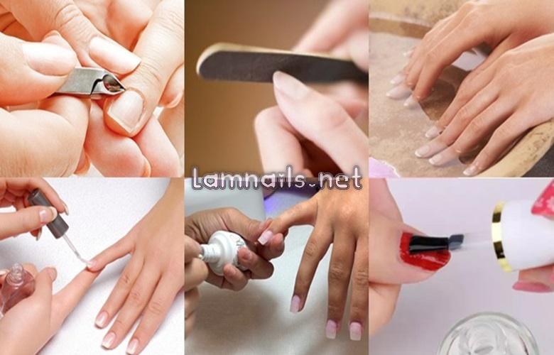 Làm Naii tại nhà, mẫu nail đẹp, đơn giản dể làm dành cho các cô gái.