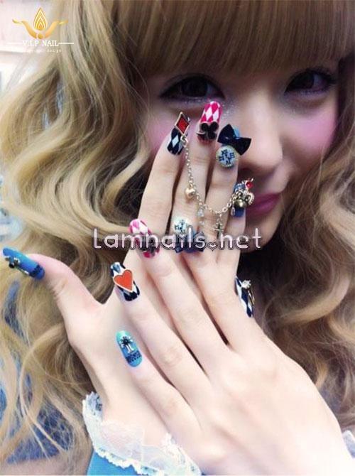 mẫu nail 3D độc đáo cuốn hút cho cô nàng cá tính; - baogiadinh.vn