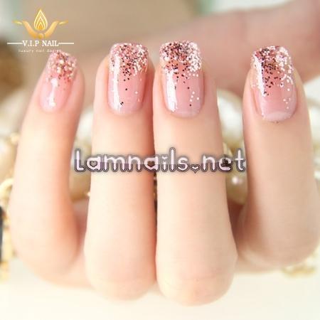 mẫu nail hồng ngọt ngào - baogiadinh.vn