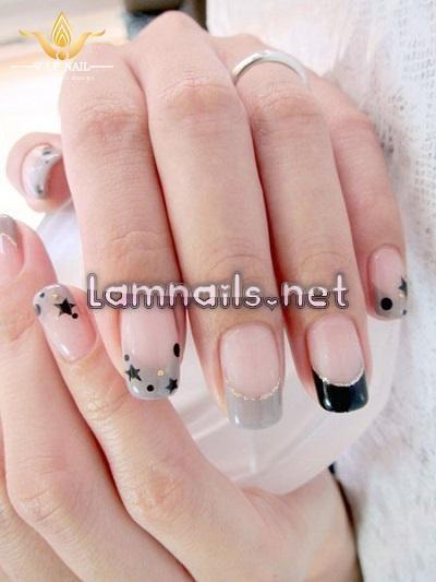 Mẫu nail đẹp cho người mới tập vẽ móng