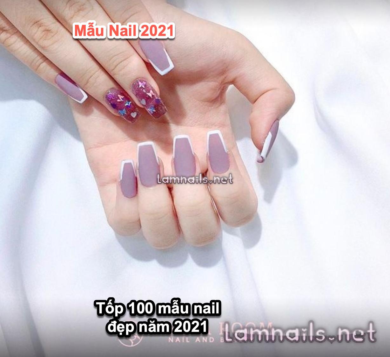 xu hướng nail 2021 2