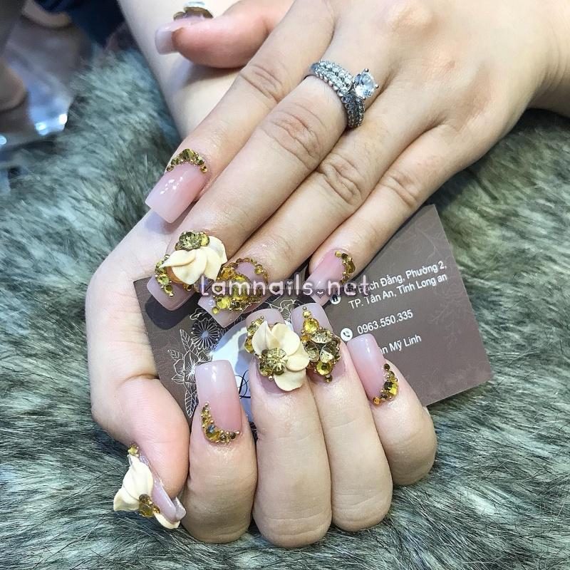 Tiệm nail đẹp ở Long An: Nail Nguyễn, Hằng Nail được đánh giá cao về mẫu nail 2021