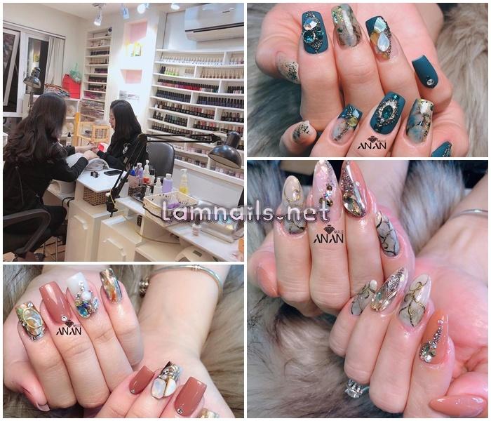 Tiệm An Nail với nhiều mẫu nail mới độc lạ