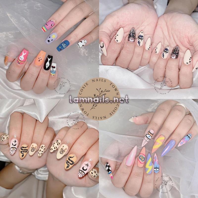 Cosie Nails Town