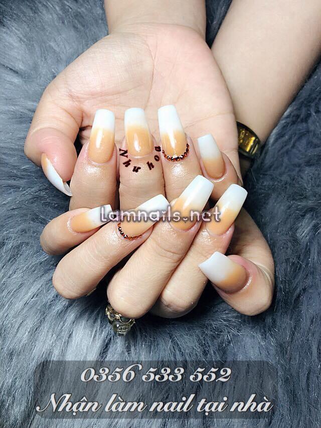 Một mẫu nail đơn gain3 của Như Hoa Nail