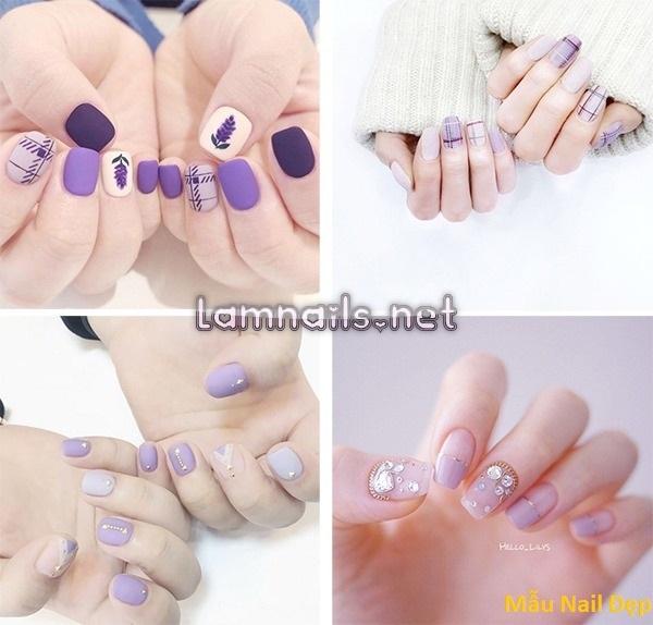 Mẫu Nail Đẹp: Mẫu nail đơn giản tôn màu da, xu hướng nail 2021