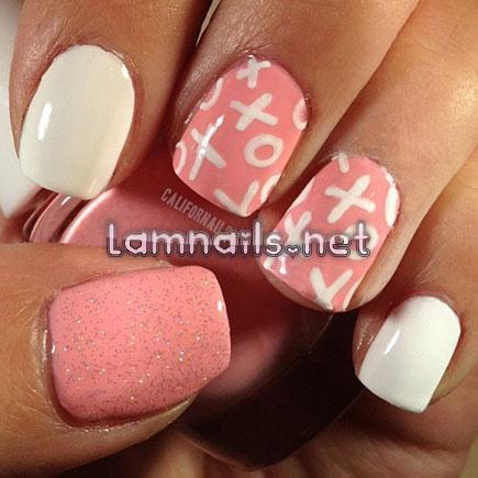 Hãy thử vẽ nail với nguồn cảm hứng từ XO XO - lamnails.Net