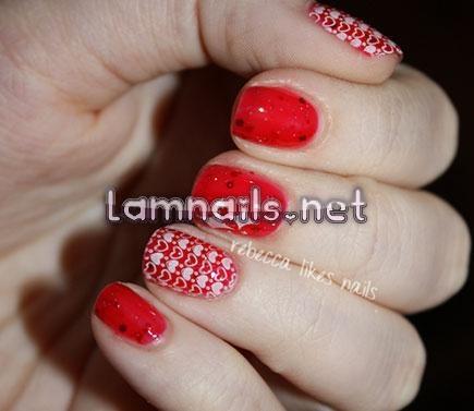 Màu đỏ luôn là lựa chọn dễ dàng nhất - lamnails.Net