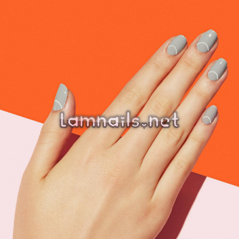 gray-paintbox-nails - lamnails.Net
