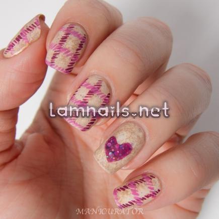 tweed_hearts - lamnails.Net