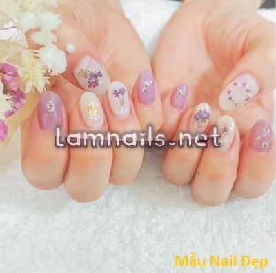 Mẫu Nail Đẹp: Những mẫu nail đơn giản dể thương, hot trend xu hướng nail 2021