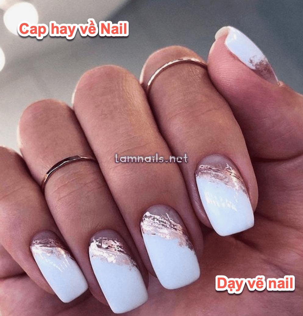 Cap thả thính hay về nghề nail, Stt quảng cáo tiệm nail tháng 10 2021