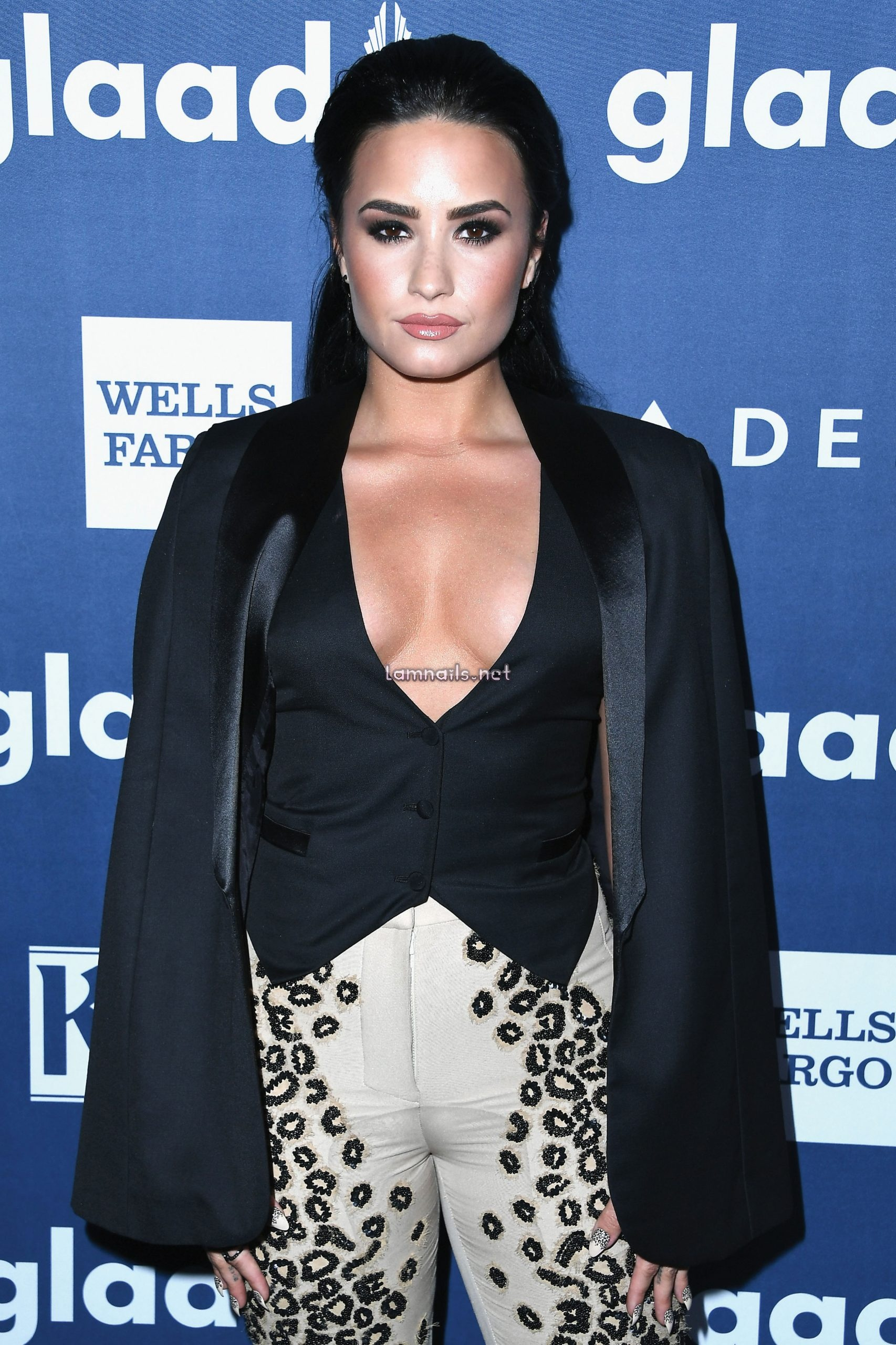 BEVERLY HILLS, CALIFORNIA - APRIL 02:  Honoree Demi Lovato attends the 27th Annual GLAAD Media Awards at the Beverly Hilton Hotel on April 2, 2021 in Beverly Hills, California.  (Photo by Steve Granitz/WireImage) - lamnails.Net