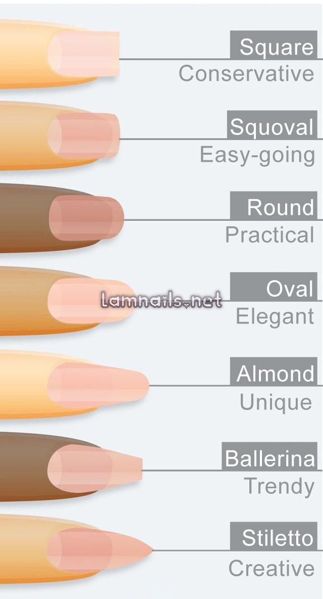 Nhận biết hình dáng móng tay và đọc vị tính cách của bạn