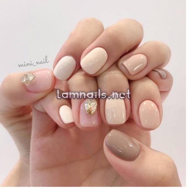 20+ mẫu nail đẹp cho móng tay ngắn được yêu thích nhất 2021