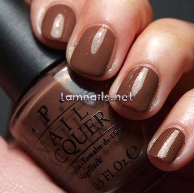 Great neutral color! OPI: Wooden Shoe Like To Know