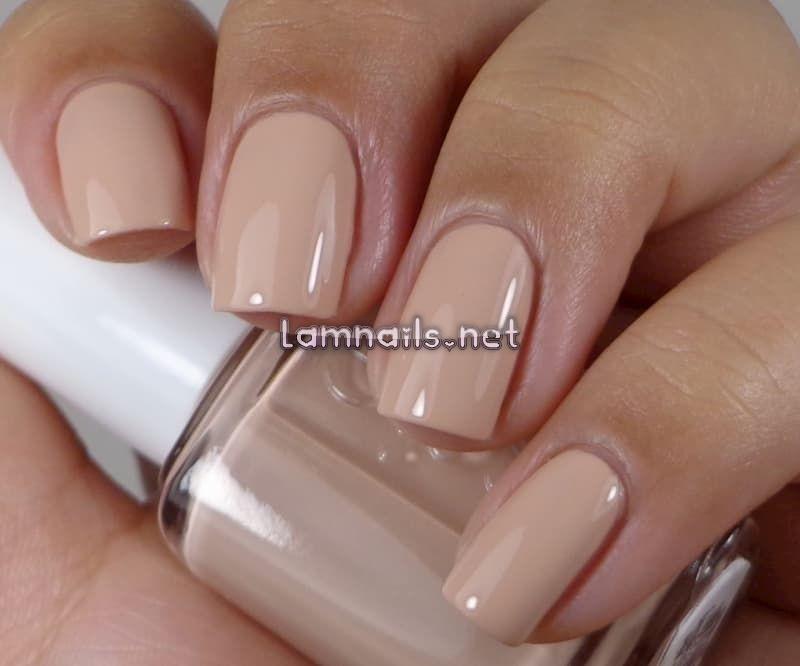 Mẫu nail màu nâu sữa