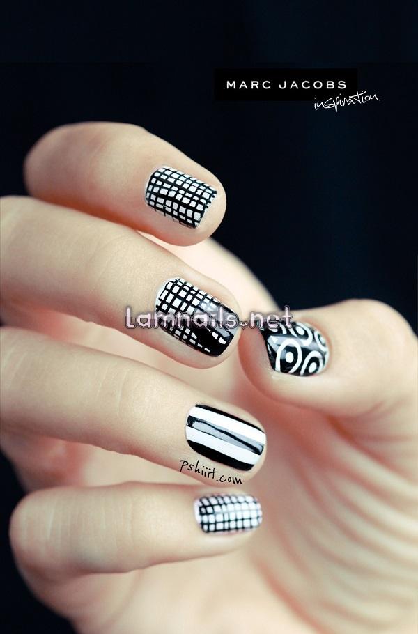 marc-jacob-nail-art-inspiration1 - lamnails.Net