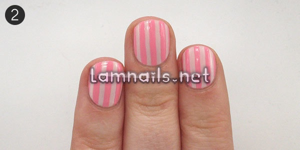 try-simple-striped-valentines-day-nail-art_227557 - lamnails.Net