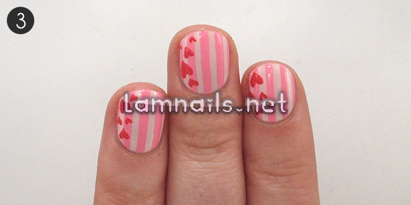 try-simple-striped-valentines-day-nail-art_227556 - lamnails.Net