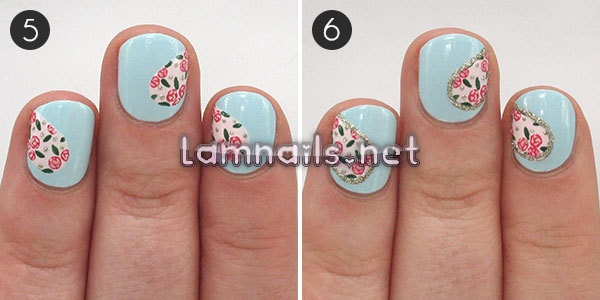 hearts-and-flowers-perfect-valentines-day-nail-art_227510 - lamnails.Net