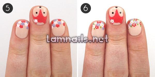 nail-art-tutorial-fantastic-floral-fox_91563 - lamnails.Net