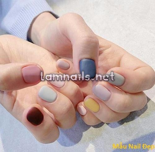 Mẫu Nail Đẹp: Những mẫu nail đẹp nhẹ nhàng cho mẫu móng ngắn, xu hướng nail 2021