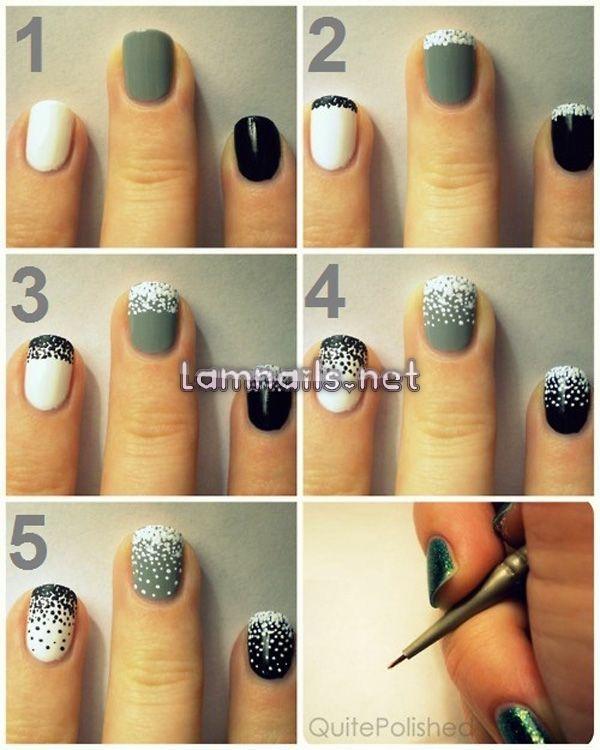 Những mẫu nail đẹp đơn giản đầy cá tính