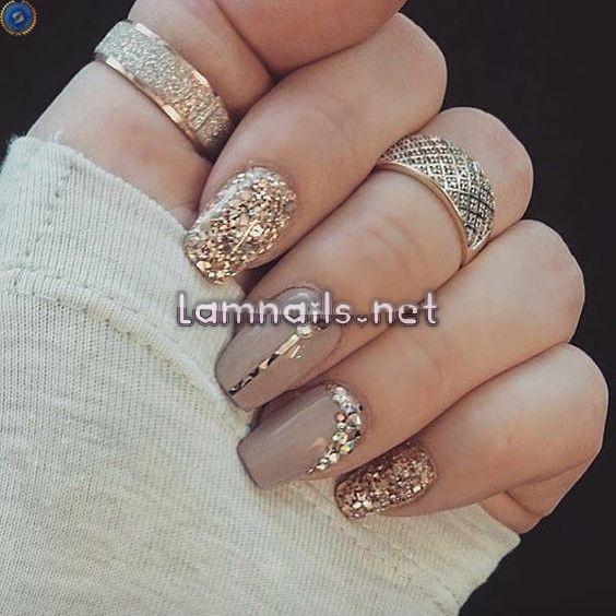 mẫu nail đẹp mang phong cách Châu Âu
