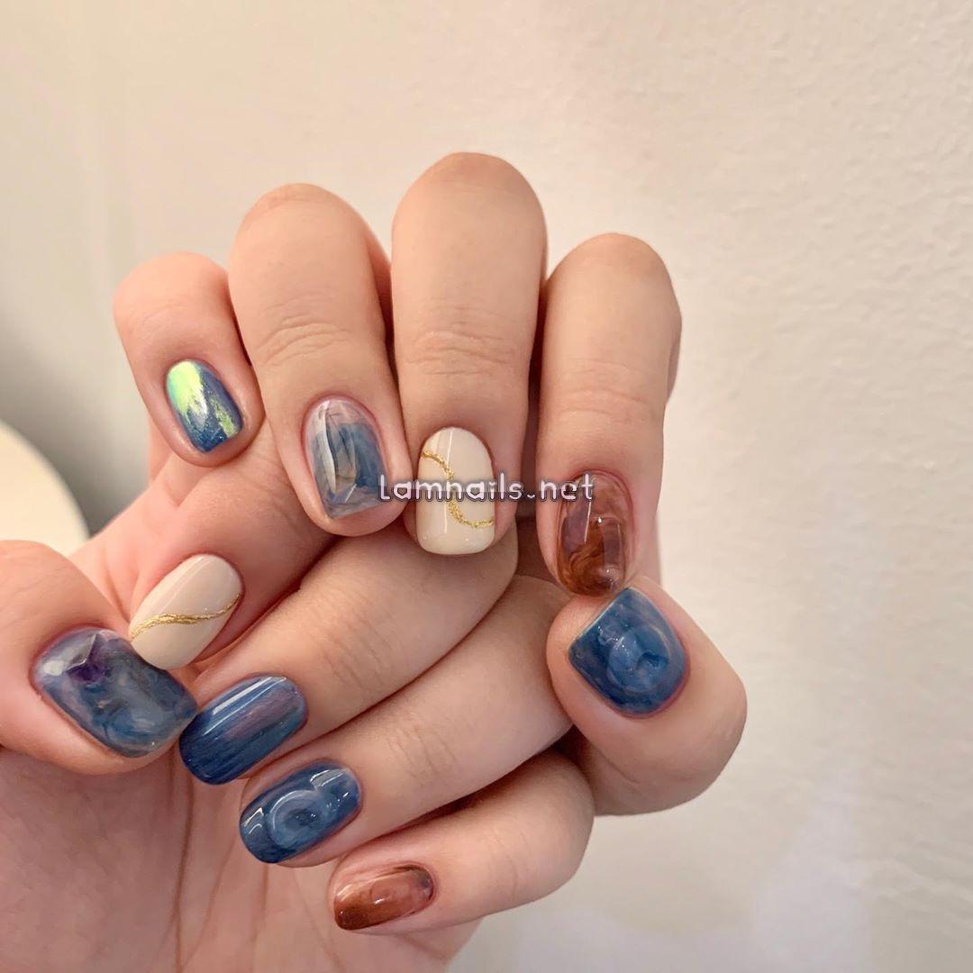 1001 mẫu nail đẹp ngẩn đẹp ngơ cho bạn làm đỏm trong dịp Tết Nguyên đá