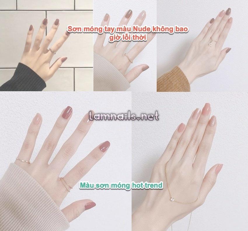 Màu nail hot trend 2021: bắt trend màu sơn móng mới tháng 8 2021