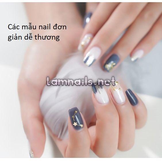 Các mẫu nail đơn giản dễ thương nhất cho mùa hè năm nay
