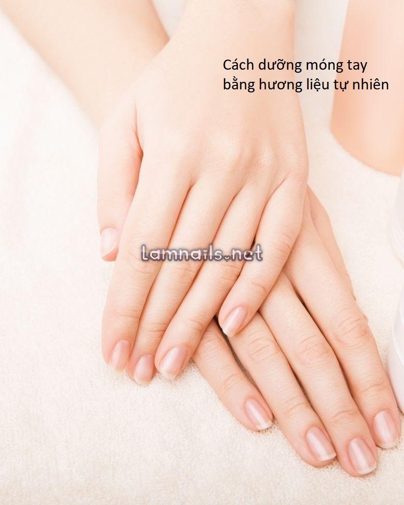 Cách dưỡng móng tay bằng hương liệu có sẵn ngay tại nhà rất đơn giản