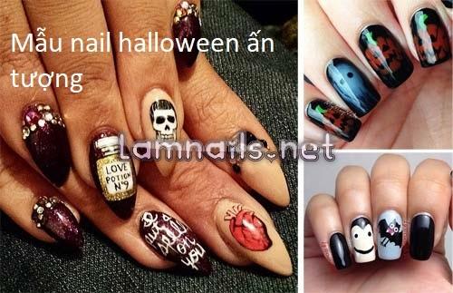 Top 10 mẫu nail halloween ma mị dành cho các bạn trẻ trong năm nay