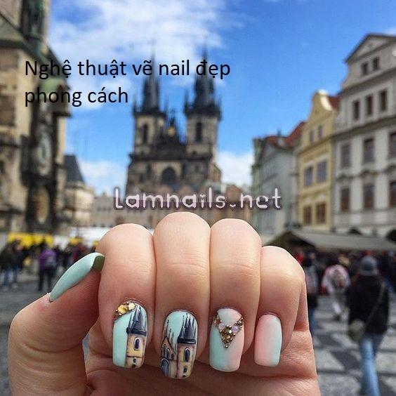 Những nghệ thuật vẽ nail đẹp mà nhiều người chưa biết cùng tìm hiểu nhé